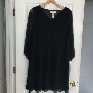 Jones of NY black cocktail dress. Size 20w